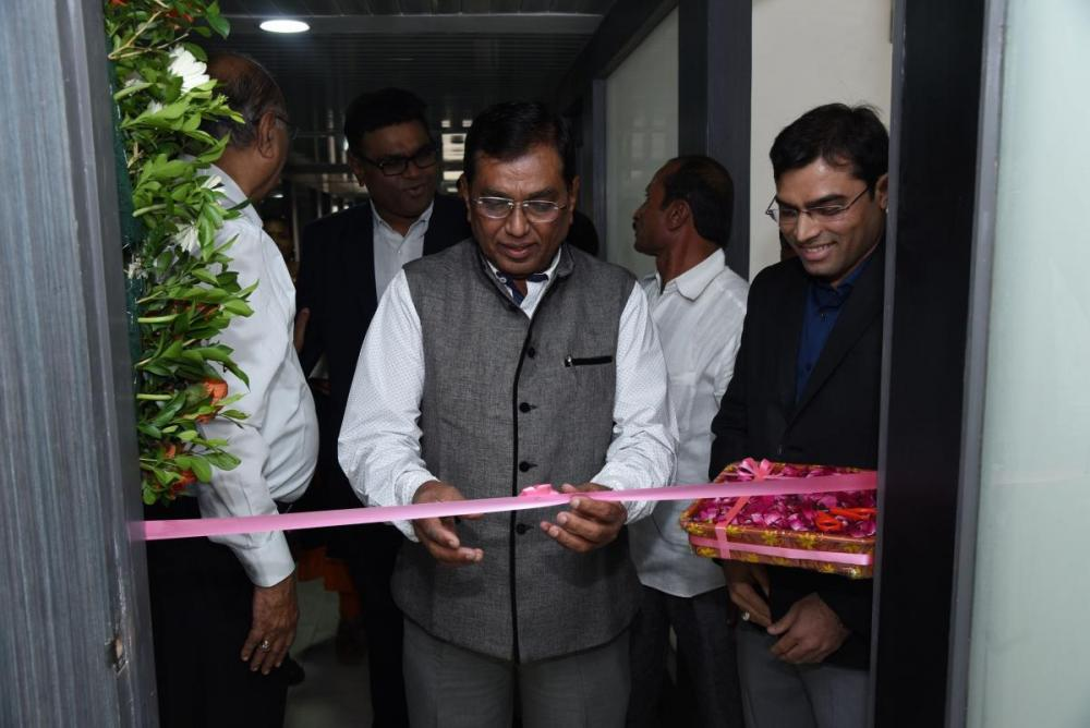 Inauguration of New office by Hon'ble Dr. Kirit Solanki the Member of Parliament , Ahmedabad